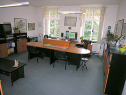 Our office in 2009